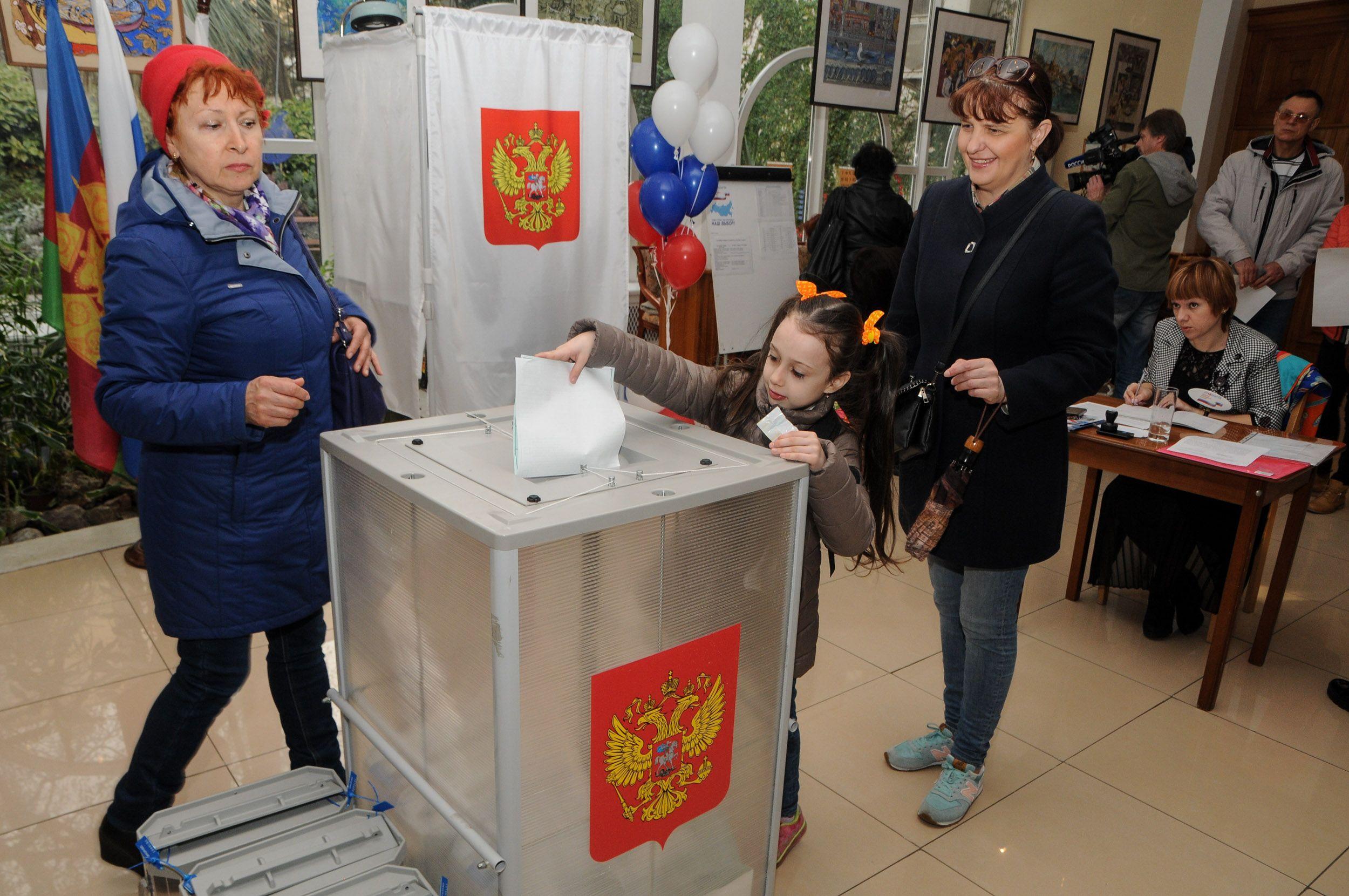 НаКубани к10:00 утра проголосовало 447,6 тыс. человек