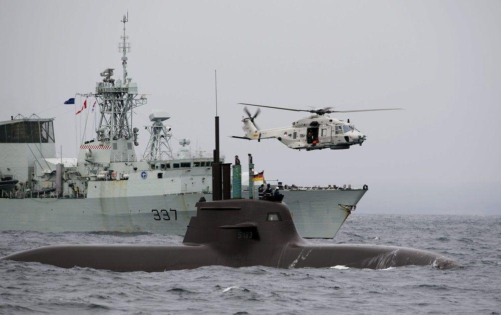 Боевые корабли НАТО направились в Черное море