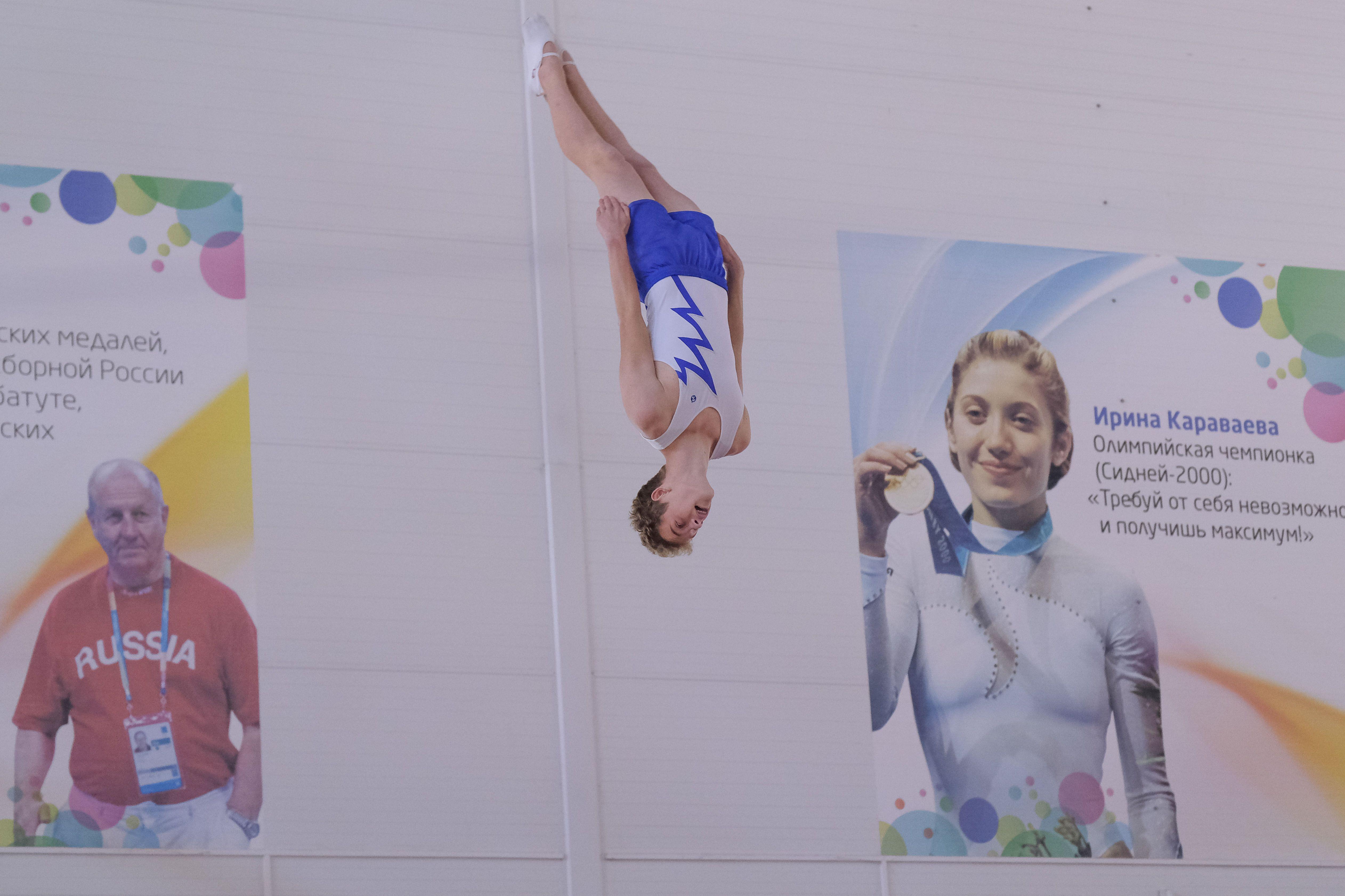 В Краснодаре завершились первенство и чемпионат Краснодарского края по прыжкам на батуте