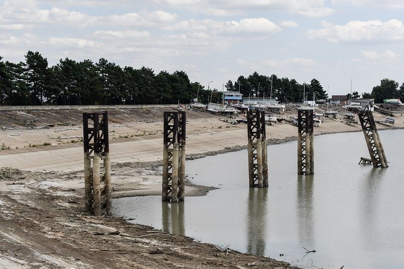 Ситуация с притоком воды в Краснодарское водохранилище стабилизировалась