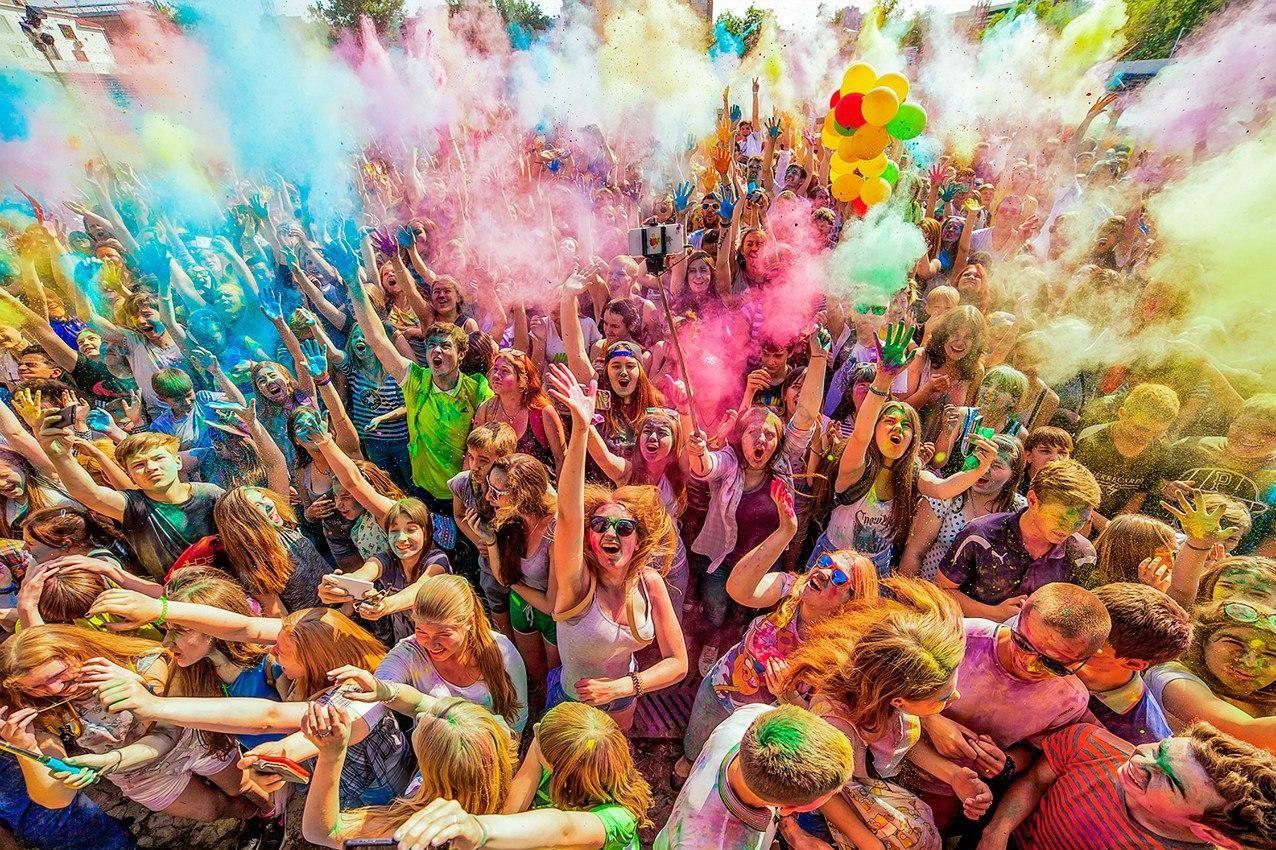 В Краснодаре пройдут фестивали мыльных пузырей, красок и волшебных ...