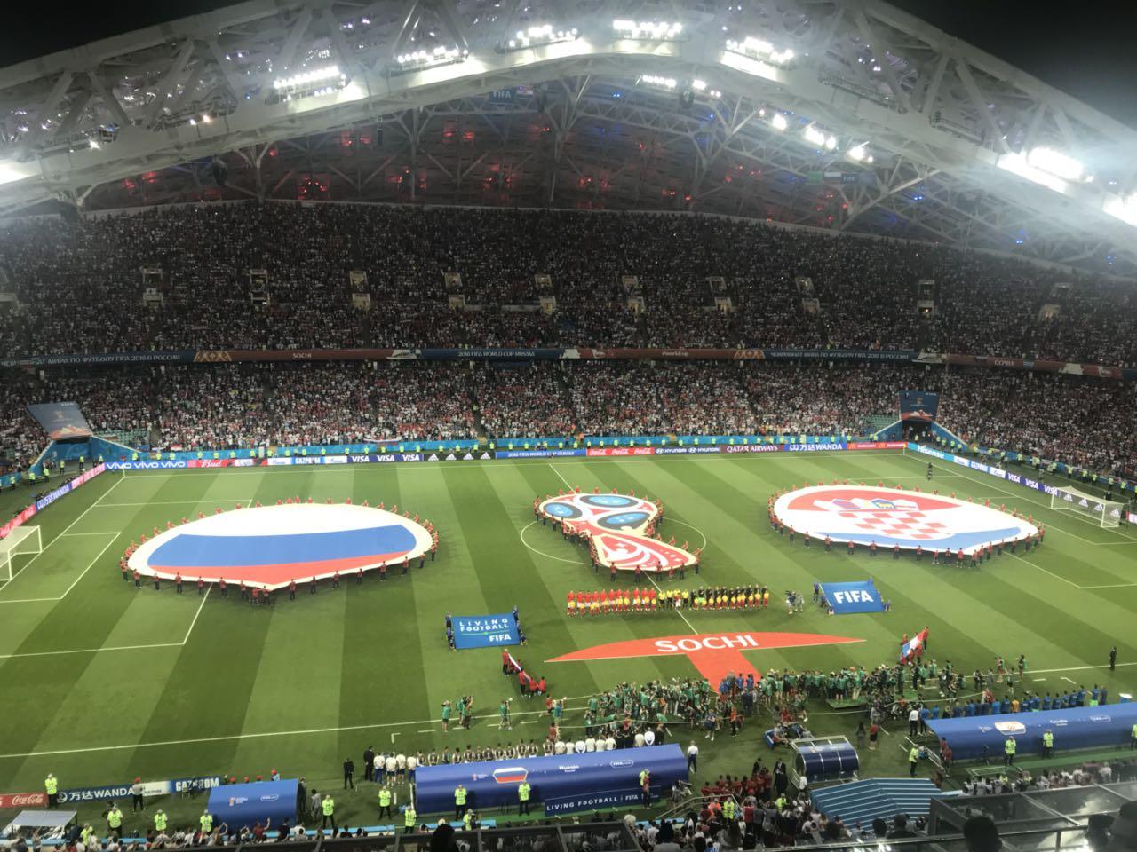 Столичные стадионы возглавили рейтинг ЧМ-2018 позаполняемости