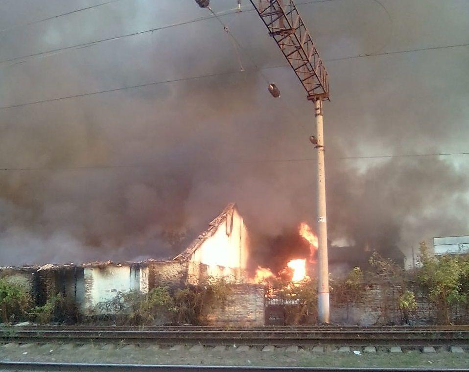 Пожару наскладах наКубани присвоили предпоследний ранг трудности