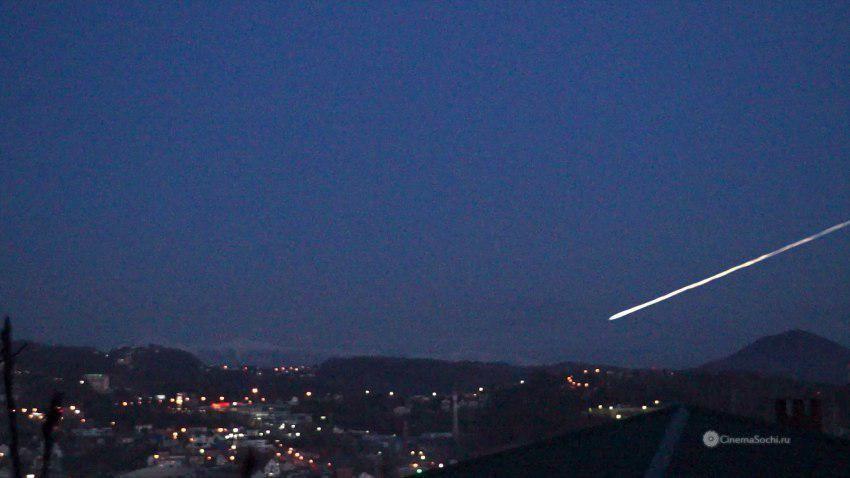 Cотрудники экстренных служб  опровергли падение метеорита вСочи