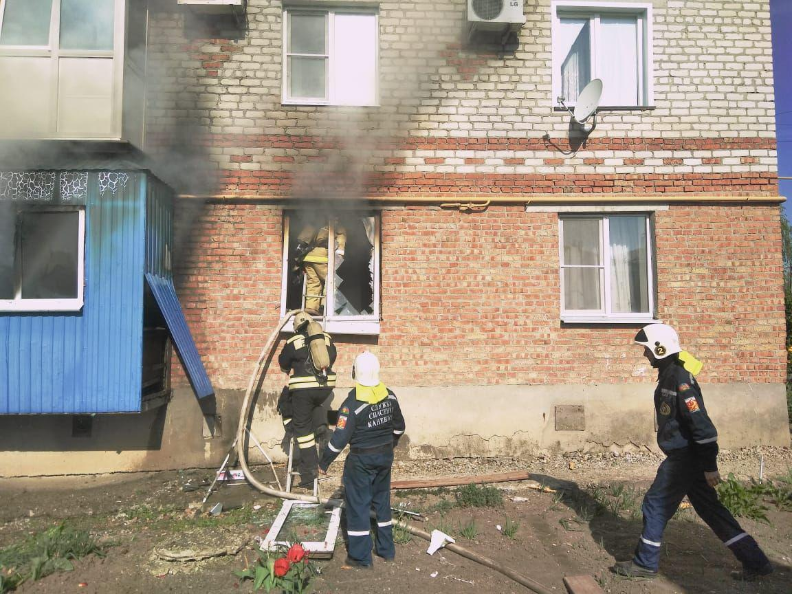Один человек пострадал отвзрыва газа вмногоэтажке наКубани