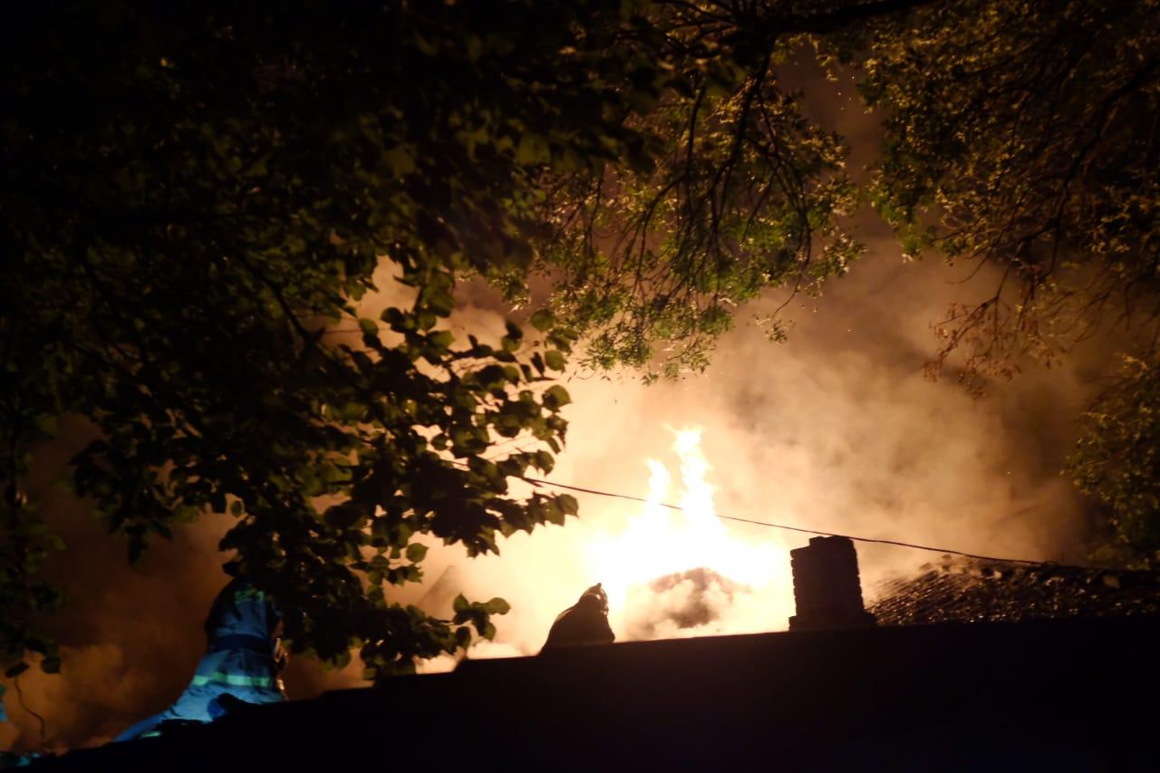 Вцентре Краснодара изпожара спасли людей