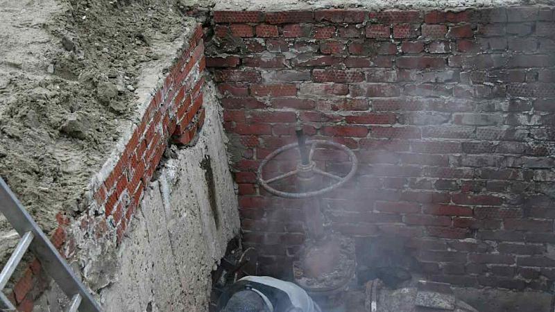 Авария натеплотрассе оставила без тепла граждан 100 домов вКраснодаре