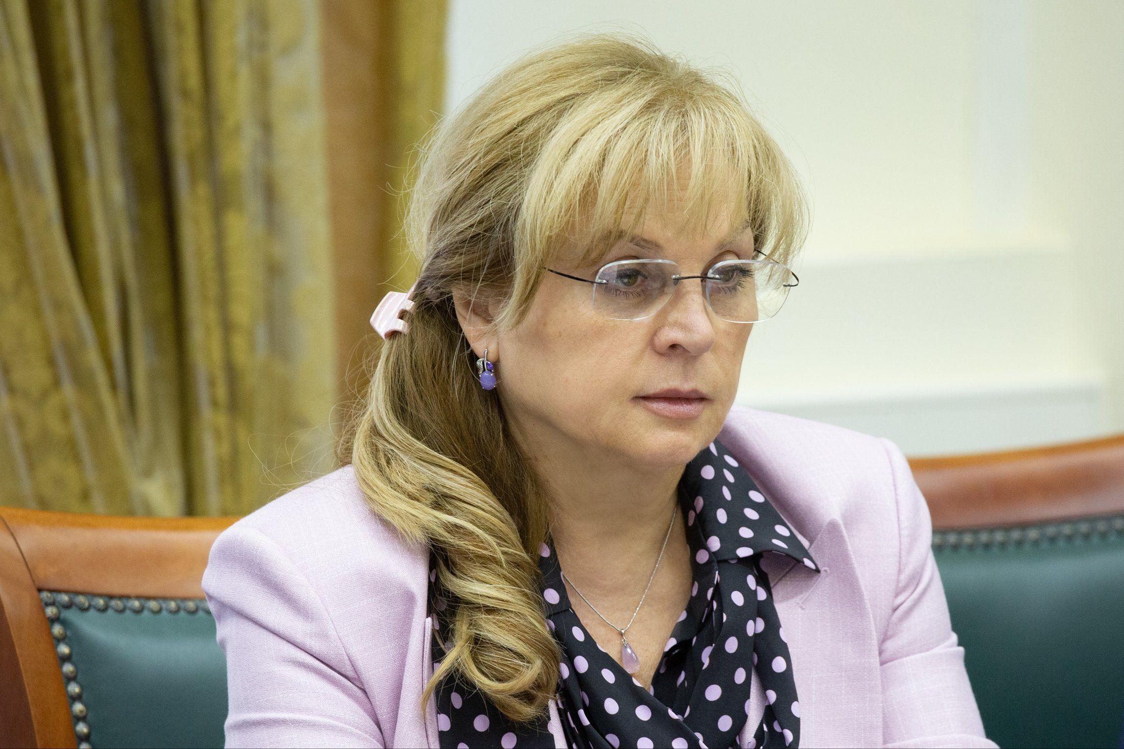 Элла Памфилова рассказала о внедрении в России электронного голосования