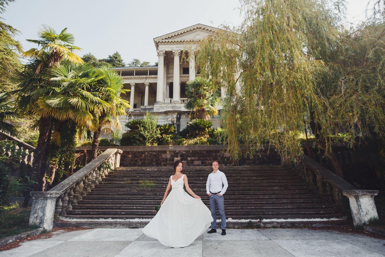 фото свадьбы город сочи