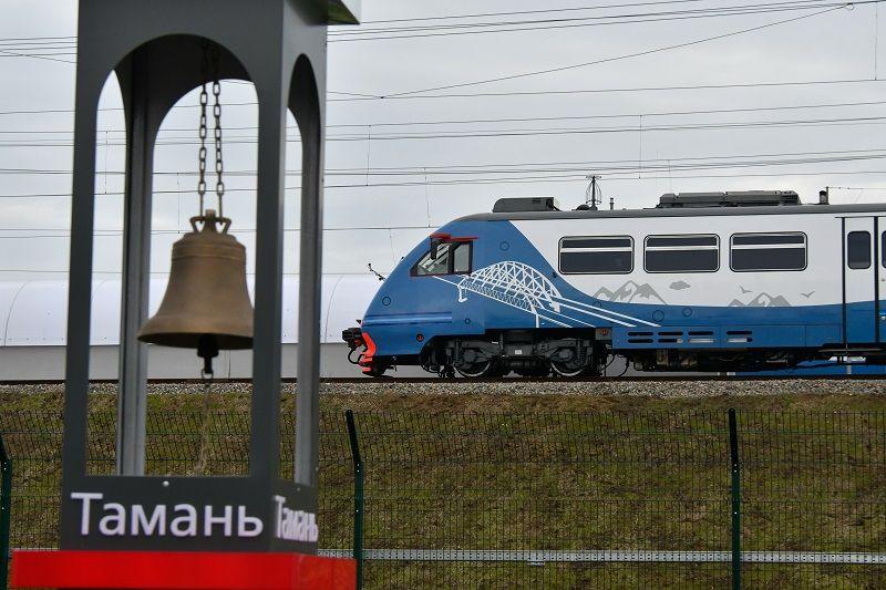 Маршрут поездов Анапа — Керчь продлят до Феодосии
