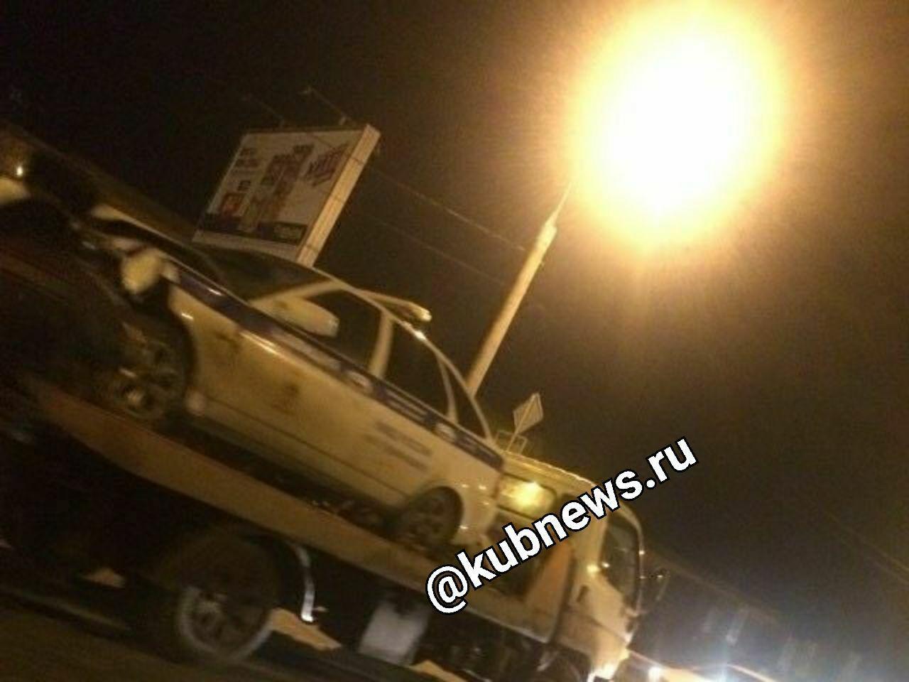 Двое полицейских пострадали врезультате дорожного происшествия вКраснодаре