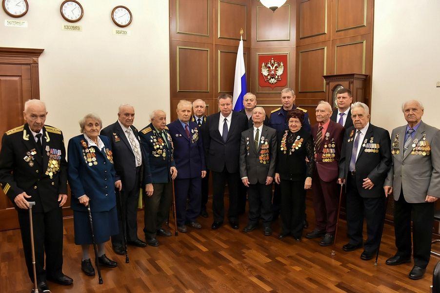 С начала года на Кубани ветеранам вручено более трех тысяч медалей в честь 75-летия Великой Победы