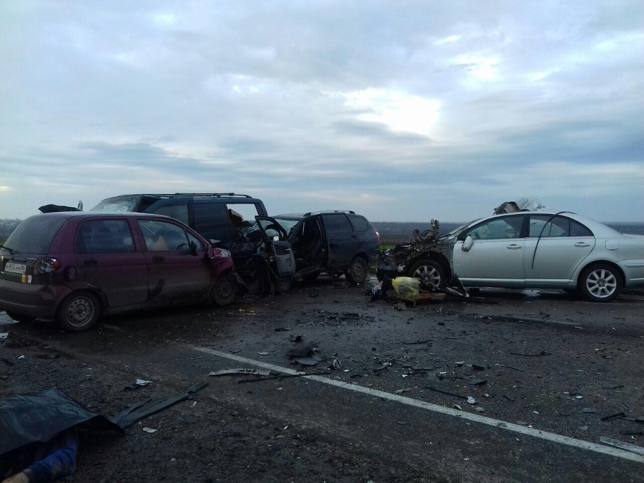 ВТихорецком районе случилось ДТП спятью автомобилями. Погибли два человека
