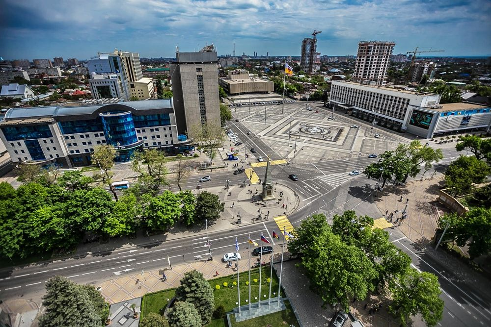 Краснодар центр города картинки торопитесь начинать