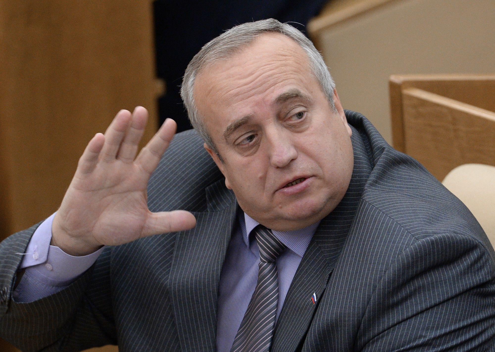 """В панике из Киева """"ломанутся все"""": Экс-сенатор Франц Клинцевич дал понять, для чего Киев вызывает Шойгу на Украину"""