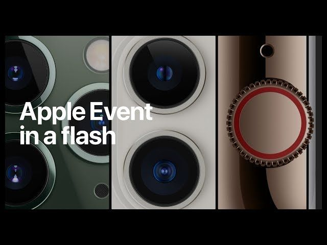 Apple Event in a flash