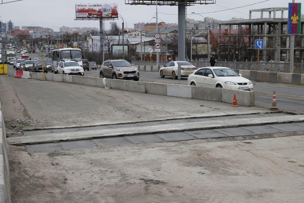 Замену всех деформационных швов завершили наТургеневском мосту вКраснодаре