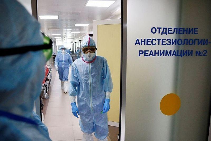 Палаты в ковидном госпитале заполнены на 100%