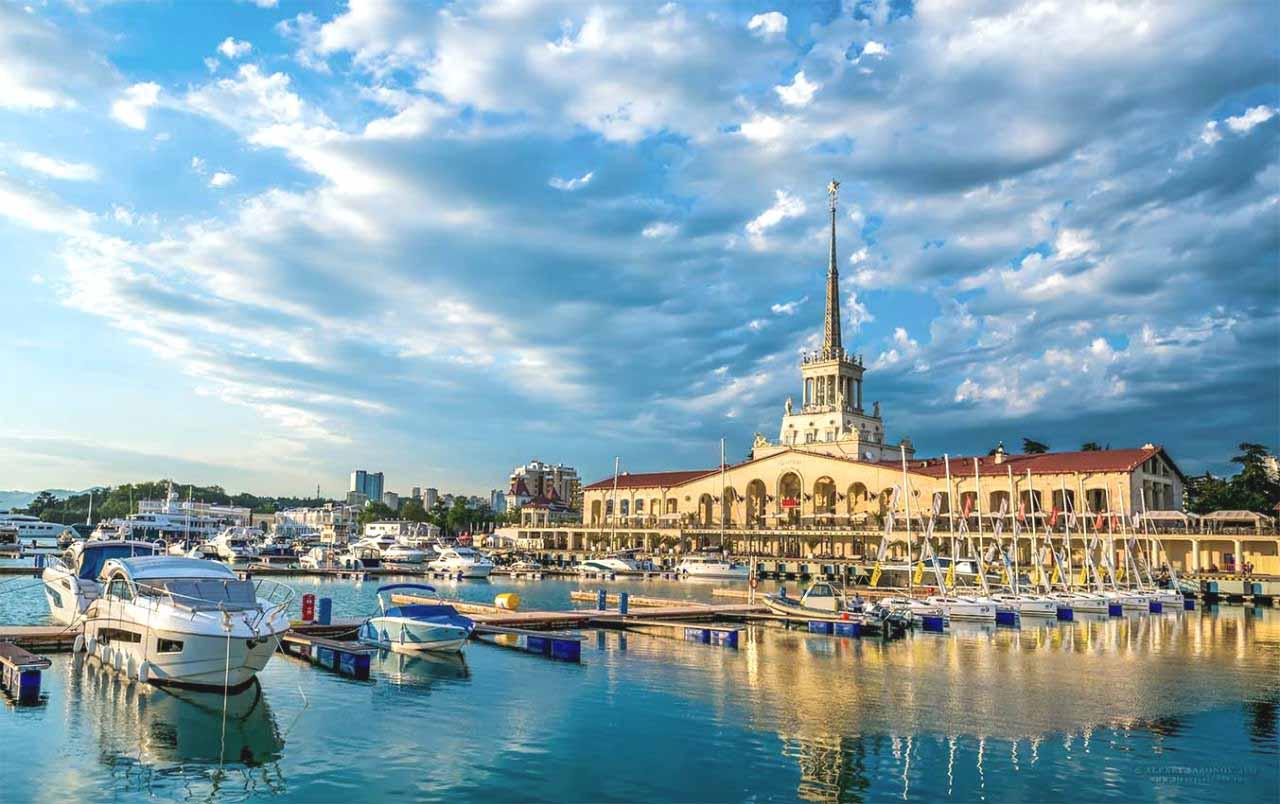 Сочи возглавил топ-10 самых известных русских курортов