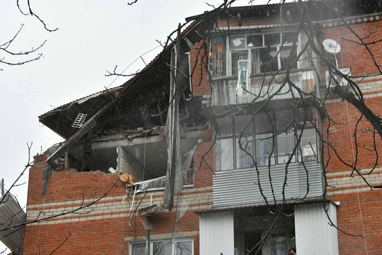 ВКраснодаре завершили разбор завалов впострадавшем отвзрыва доме