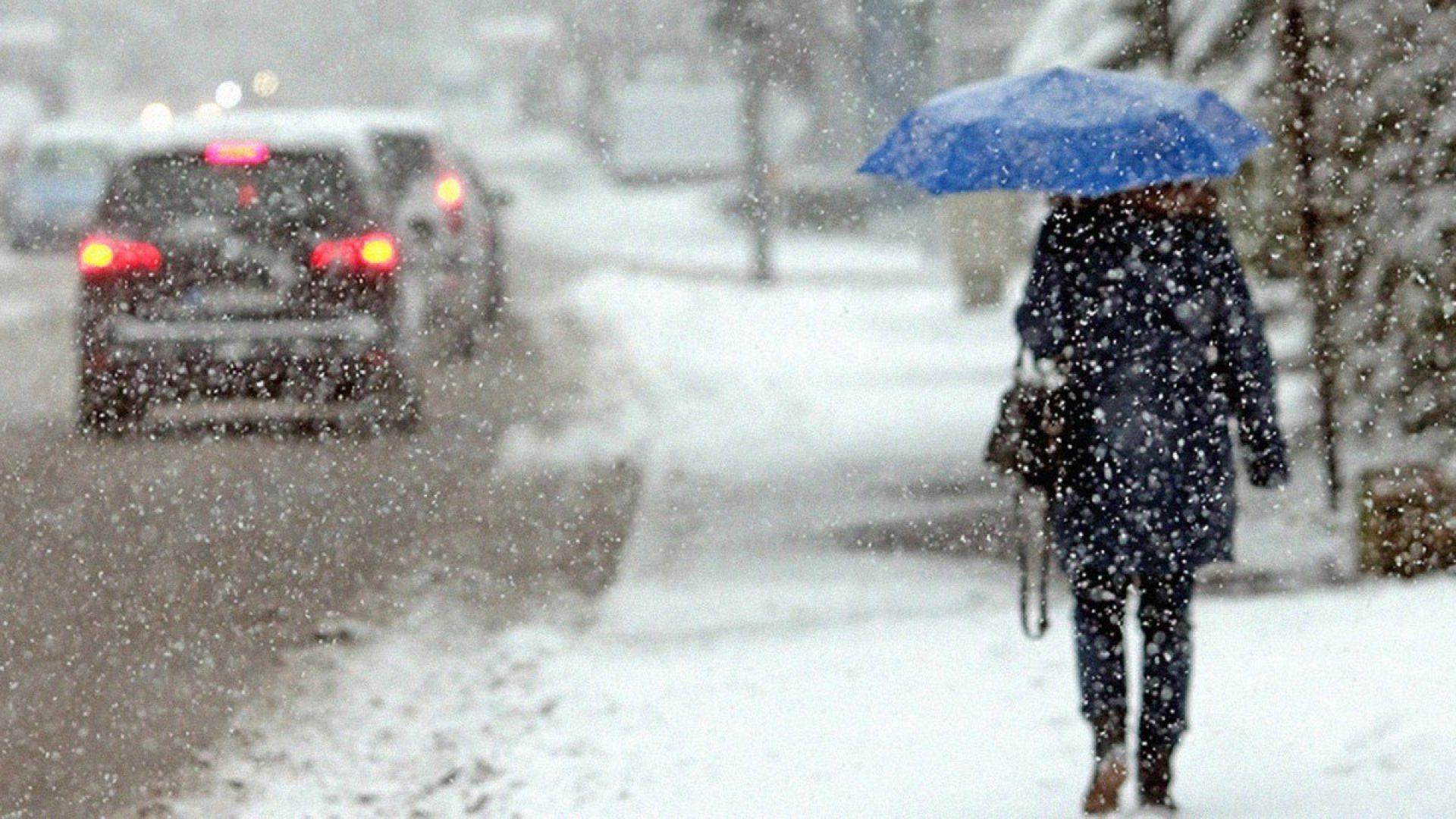 Снег ожидается на большей части Казахстана во вторник, лишь на юго-западе без осадков