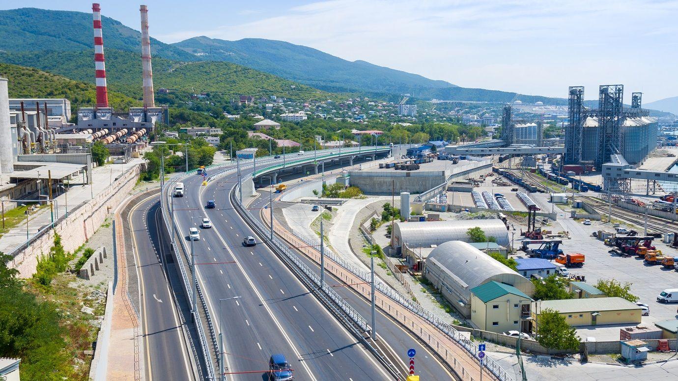 В Новороссийске заработала новая автотранспортная развязка