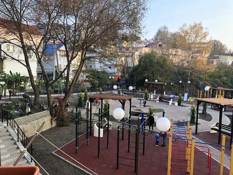 В Краснодарском крае проект по формированию комфортной городской среды выполнен на 96%