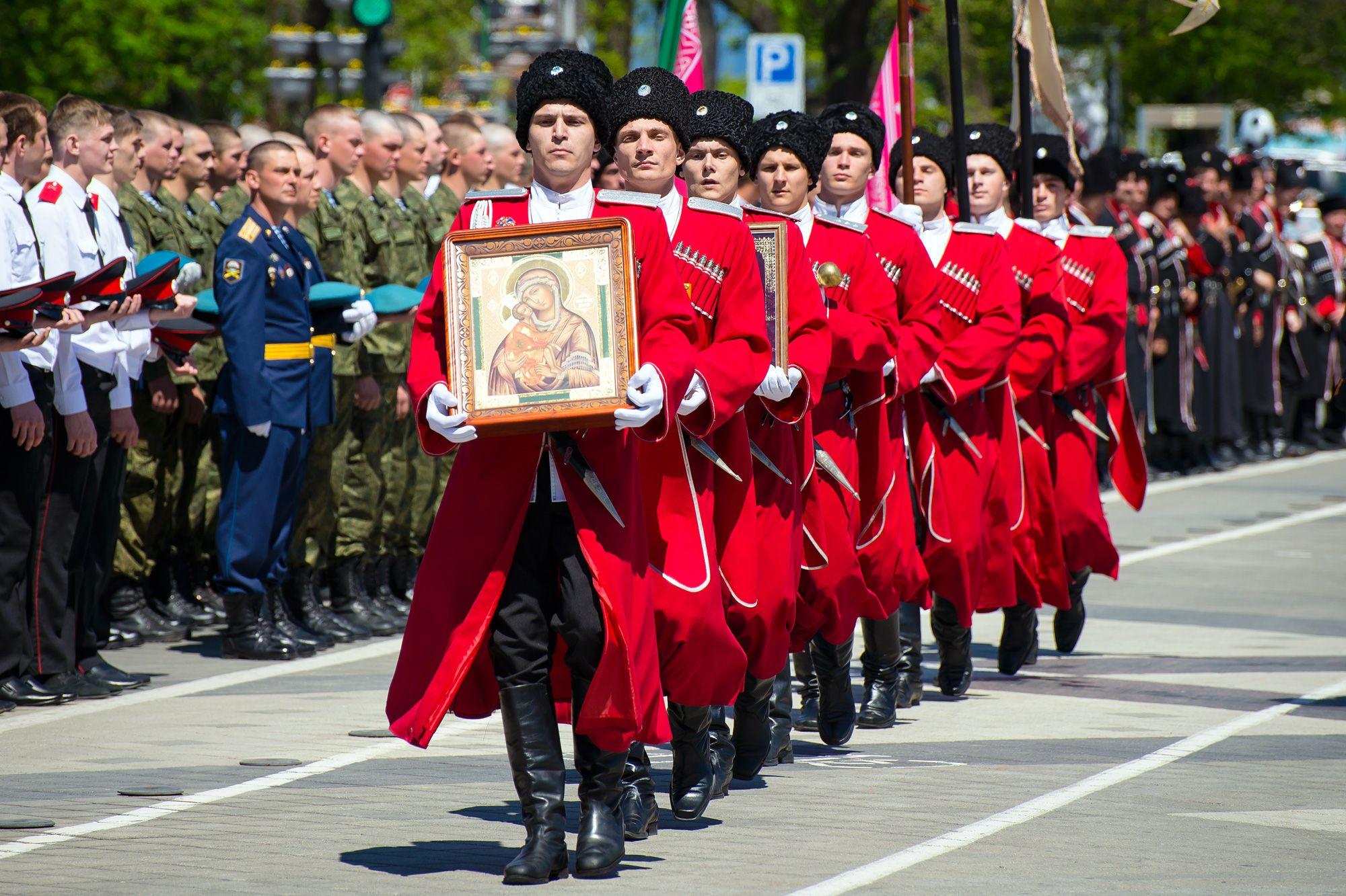 Первая вРФ казачья рота Росгвардии укомплектована вКраснодарском крае