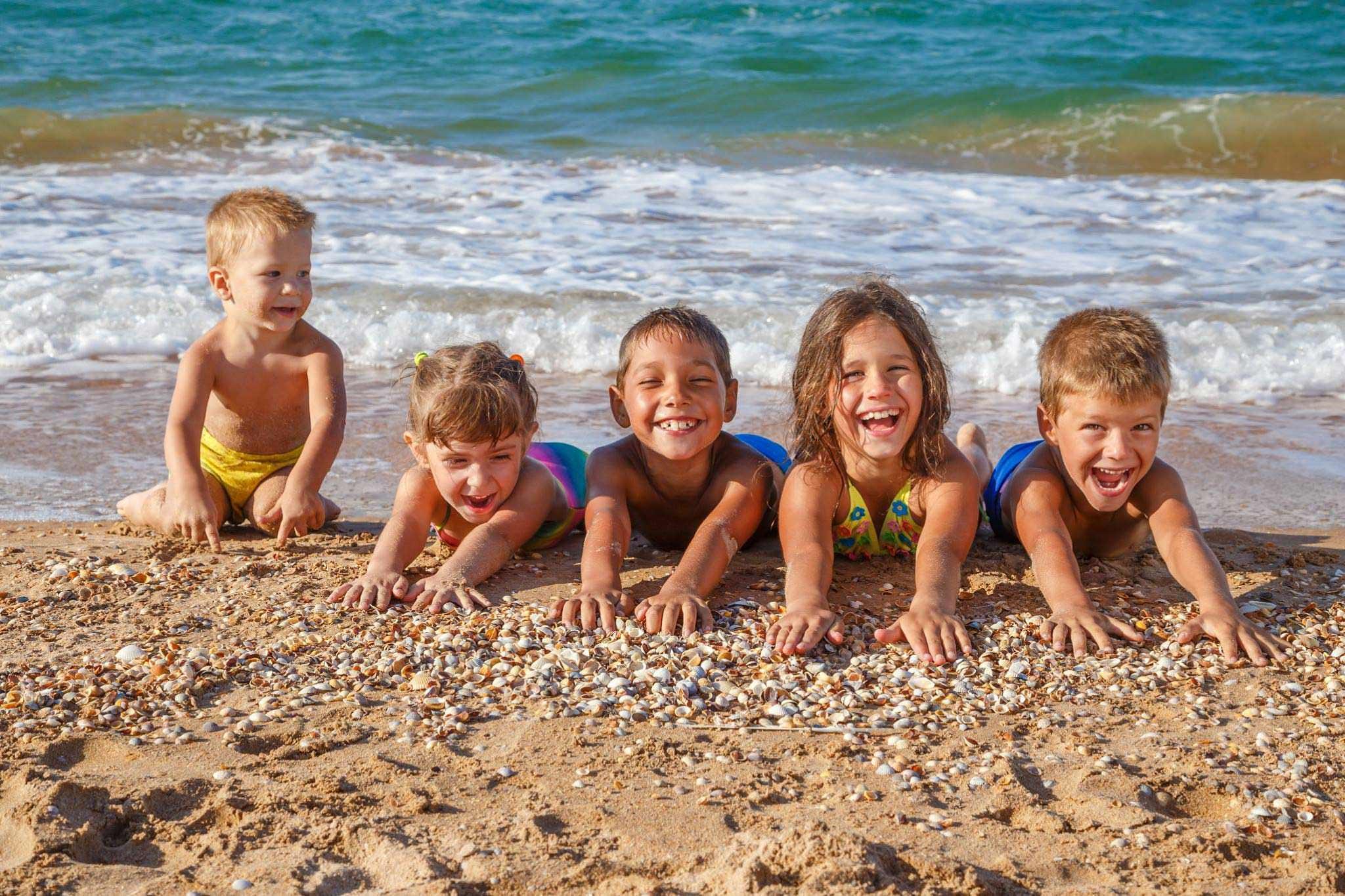 Дети из особенных семей смогут отдохнуть на море за счет государства