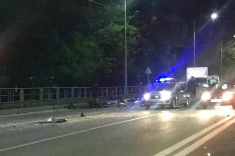 Шесть человек пострадали вмассовом ДТП вКраснодаре