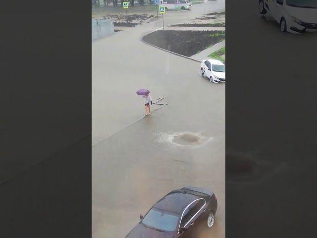 Дождь на улице Героев-Разведчиков, 21 июля