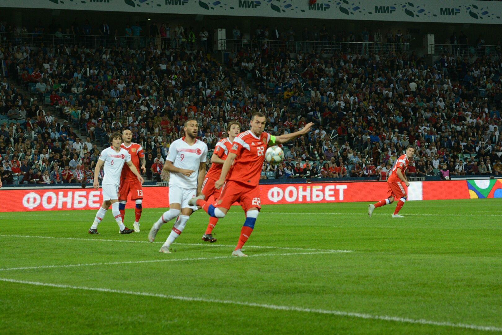 Сборная РФ пофутболу провела тренировку после матча соШвецией