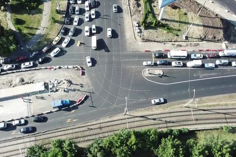 ВКраснодаре изменят схему движения транспорта напересечении Зиповской иРостовского шоссе