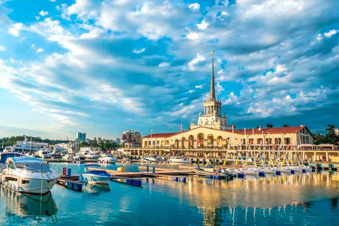 сделанный фото красивые города сочи всего
