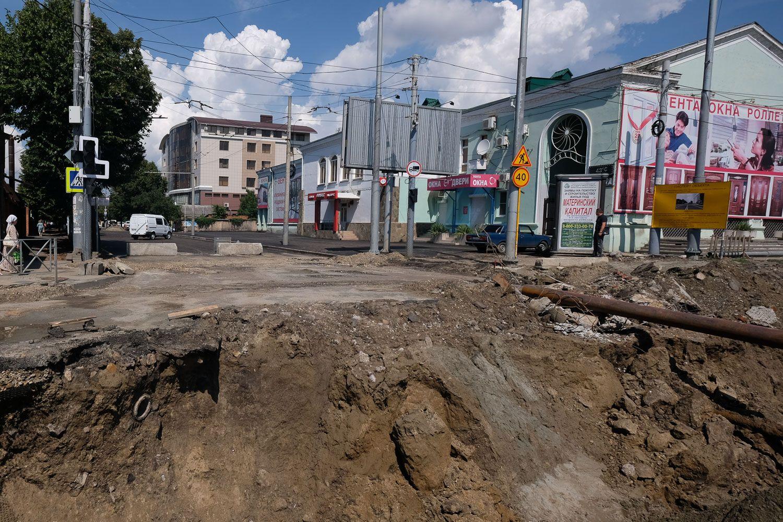 Перекресток улиц Северной иТургенева откроют позже, чем планировалось