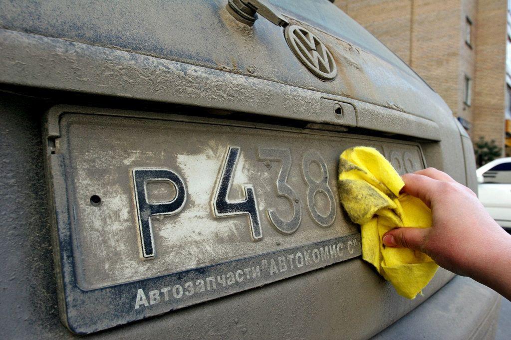 Водители могут лишиться прав за грязные номера