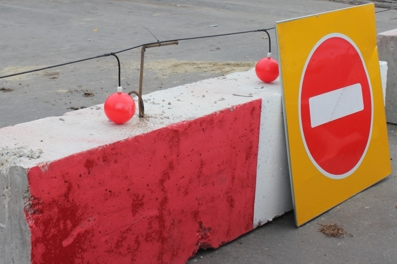 На участке улицы Московской в Краснодаре временно ограничат движение транспорта