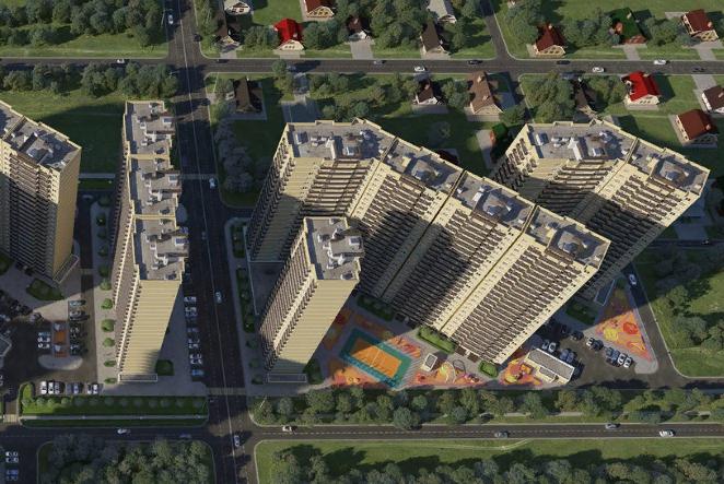 Краснодарский край вошел в топ-5 регионов России по объемам ввода жилья