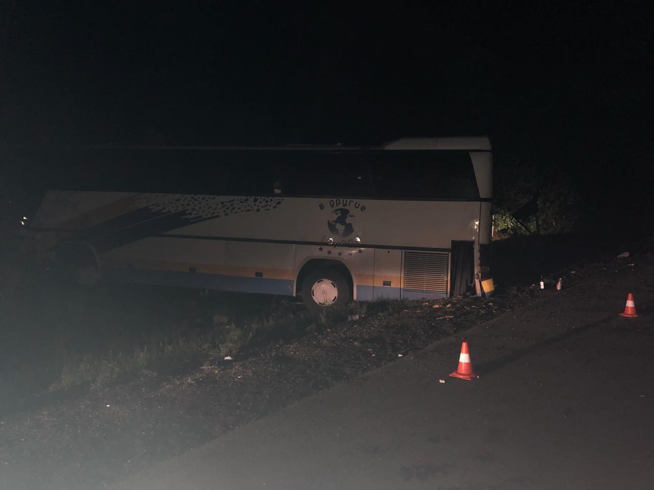 Под ярославлем попал в дтп автобус с 37 пассажирами