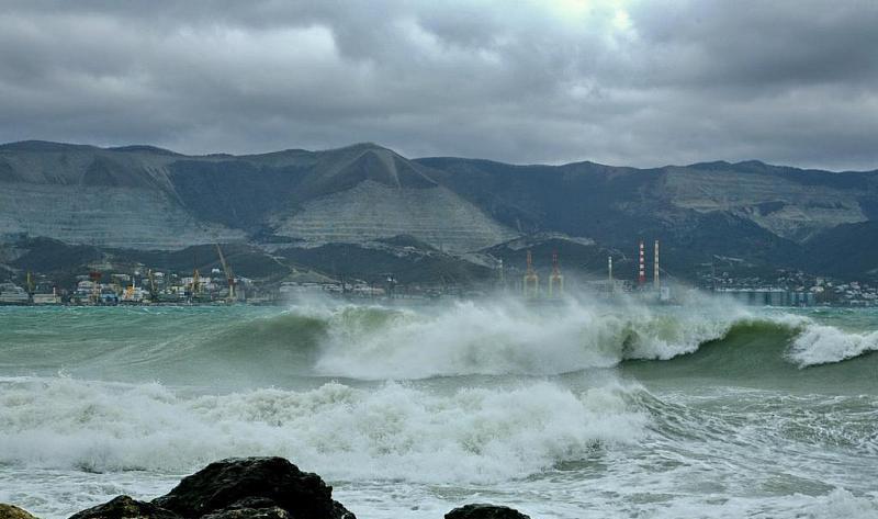 В Новороссийске ожидается сильный ветер и шторм