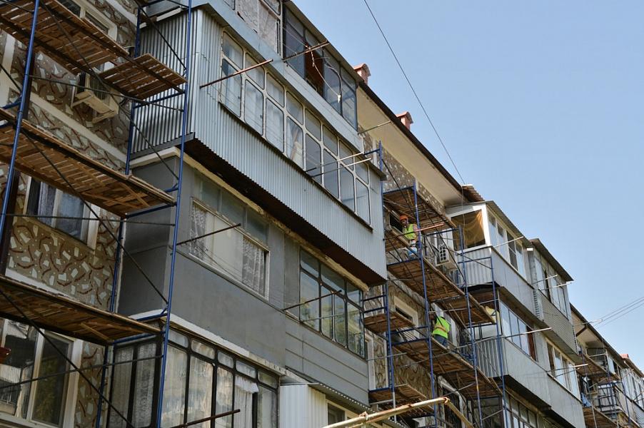 В Краснодарском крае в этом году в отремонтируют 800 многоэтажек