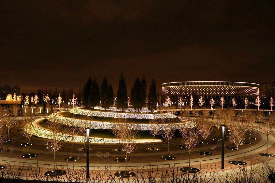 Парк стадион краснодар фото