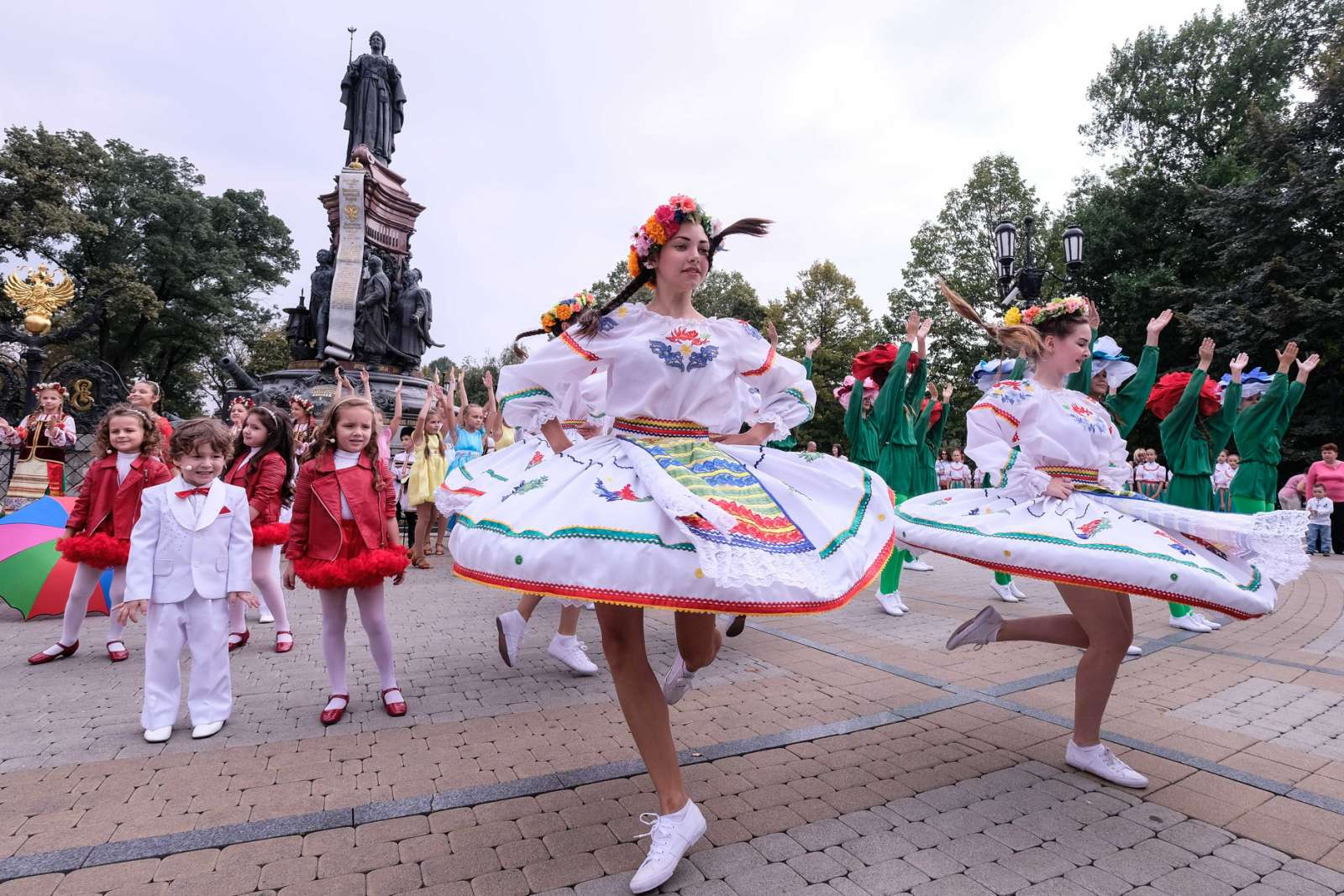 круговерти день города краснодара фото столице чувашии