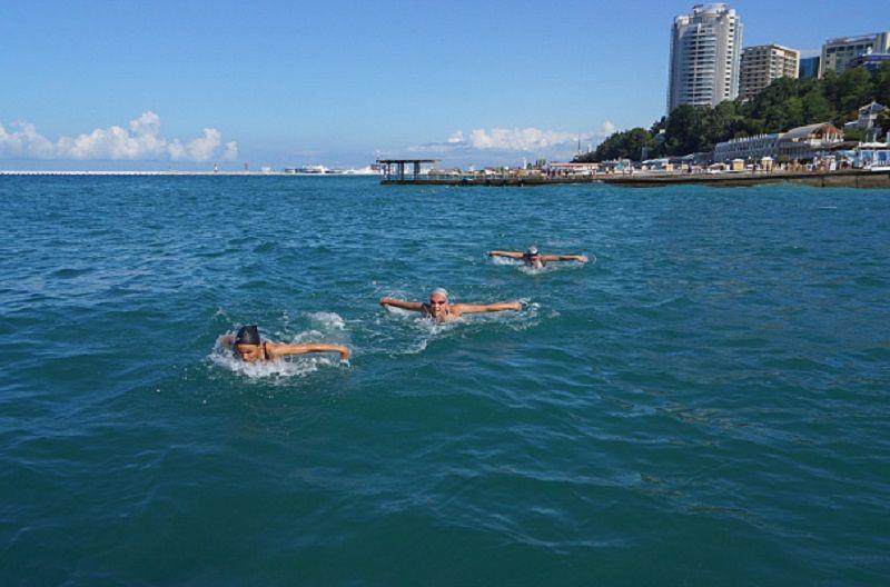 В Сочи 28 июня пройдет «День пловца»