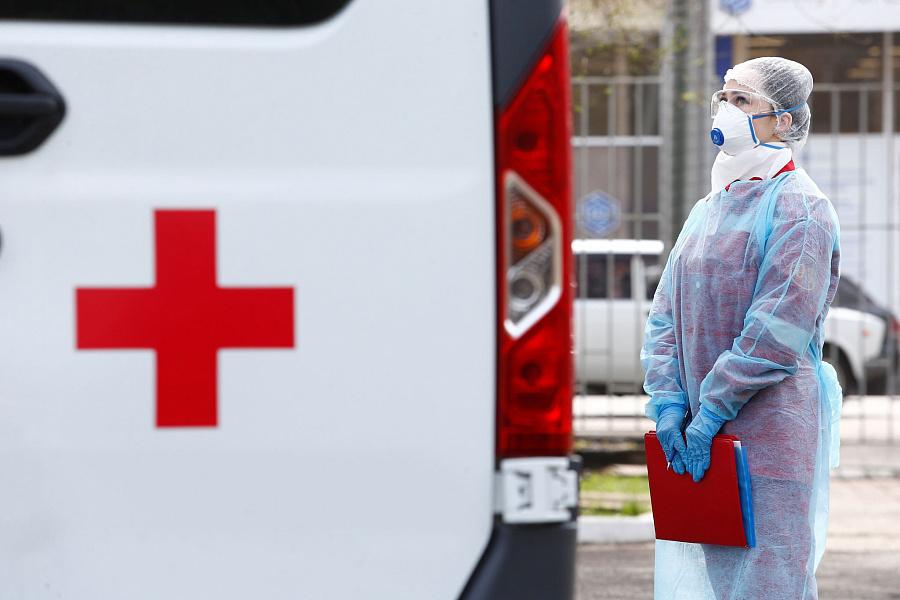Неменее 20 тыс. случаев ковида выявили в Российской Федерации впервый раз сянваря