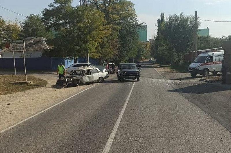 80-летний водитель ВАЗа устроил ДТП с четырьмя пострадавшими