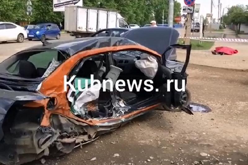 Смертельное ДТП с участием «Газели» и каршерингового «Фольксвагена» произошло в Краснодаре
