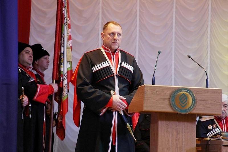Атаманом Екатеринодарского районного казачьего общества и вице-мэром Краснодара стал Алексей Горбенко