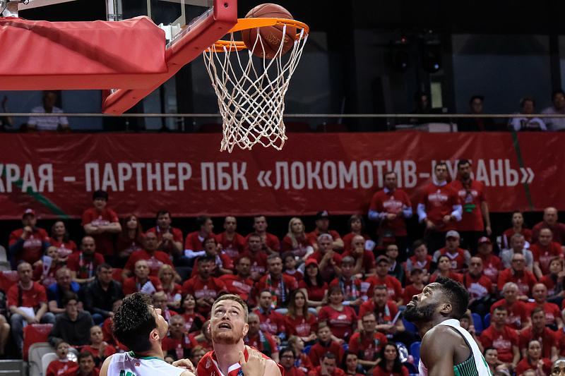В первом финальном матче Еврокубка «Локомотив-Кубань» проиграл «Дарушшафаке», фото-19
