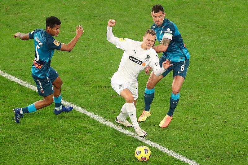 V Matche Winline Derby Zenit Obygral Krasnodar So Schetom 3 1